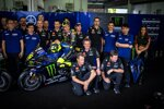 Valentino Rossi mit dem Team