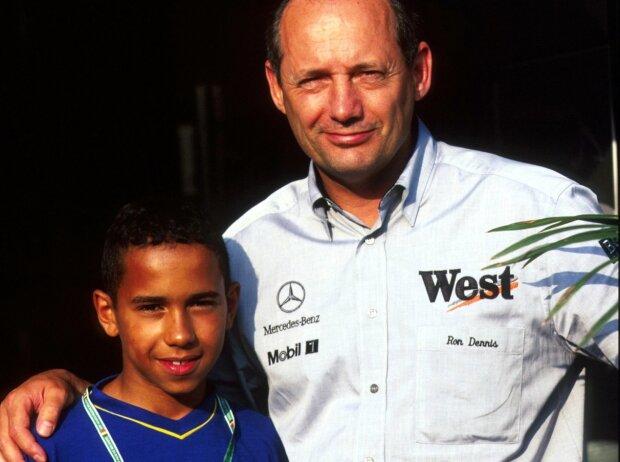 Lewis Hamilton, Ron Dennis