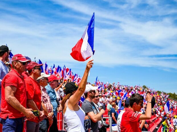 Fans am Circuit Paul Ricard in Le Castellet