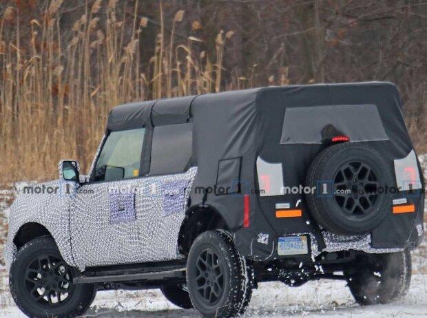 2021 Ford Bronco auf Erlkönigbildern