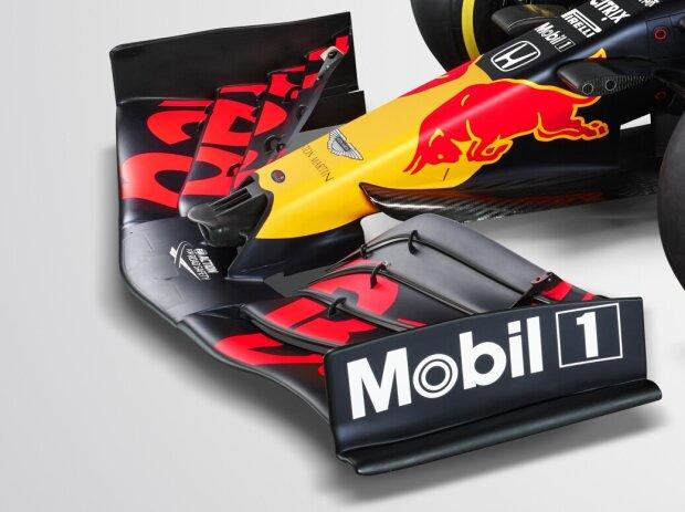 Frontpartie des Red Bull RB16