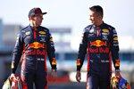 Max Verstappen und Alexander Albon (Red Bull)