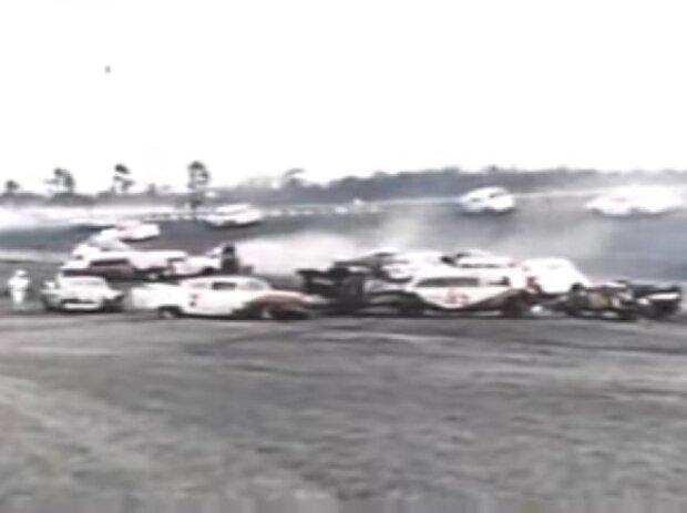 NASCAR-Massencrash in Daytona 1960