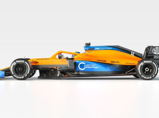 Präsentation McLaren MCL35