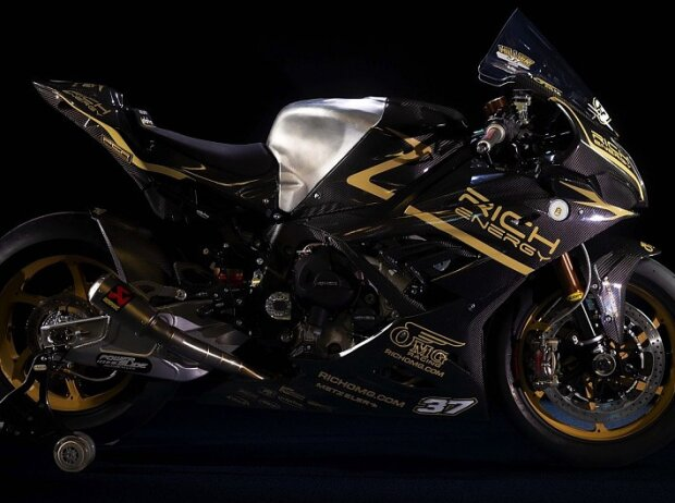 OMG-BSB-Bike in Rich-Energy-Lackierung