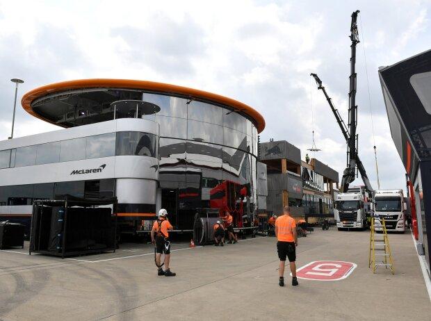 Formel-1-Motorhomes