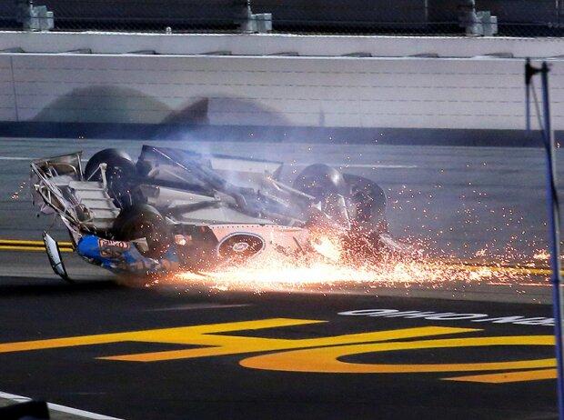 Crash: Ryan Newman