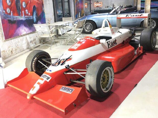 Der originale Formel-3-Rennwagen von Michael Schumacher