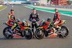 Andrea Iannone, Bradley Smith und Aleix Espargaro (Aprilia)