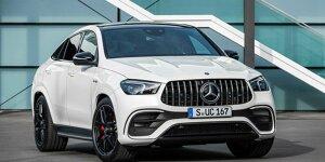 Mercedes-Benz GLE Coupé: News, Gerüchte, Tests