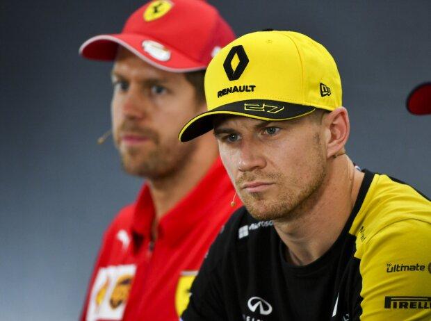 Nico Hülkenberg, Sebastian Vettel