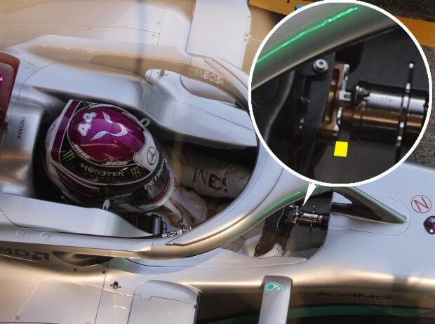 DAS am Mercedes F1 W11 EQ Performance