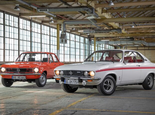 Opel Ascona und Opel Manta