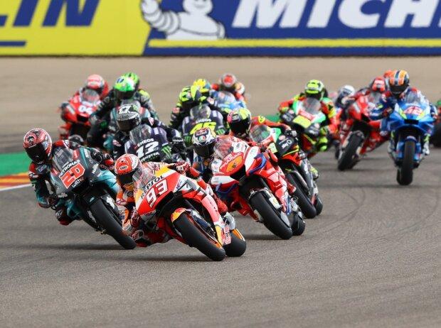 MotoGP Start in Aragon