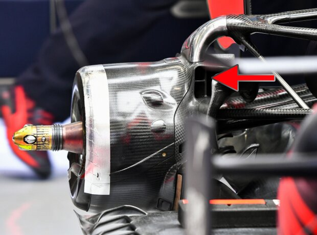 Hintere Bremsbelüftung Red Bull RB16