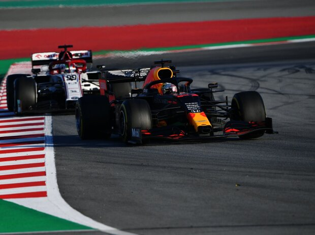Max Verstappen, Antonio Giovinazzi