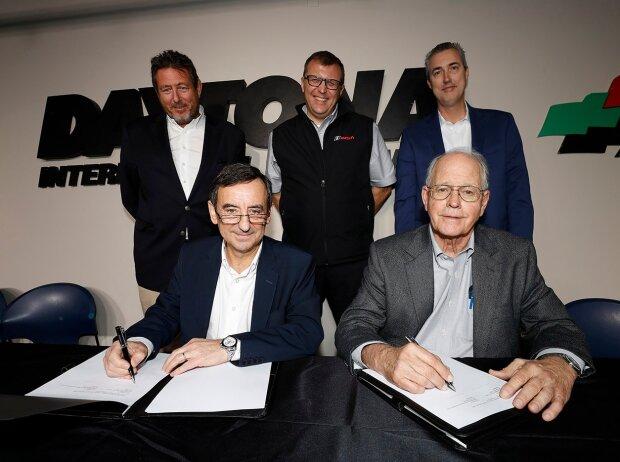 Pierre Fillon, Jim France, Gerard Neveu, John Doonan, Ed Bennett