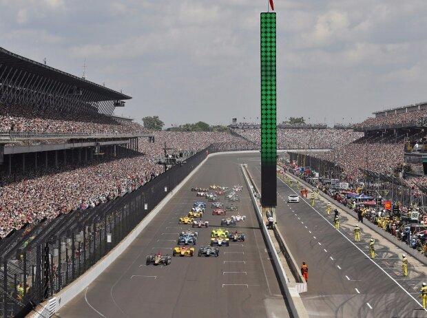 Indianapolis 500 2016, Zuschauer, Start