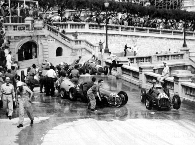 Startunfall Monaco 1951