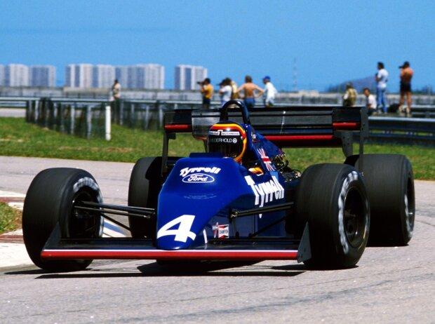 Stefan Bellof, Tyrrell-Ford, Rio de Janeiro, Grand Prix Brasilien 1984