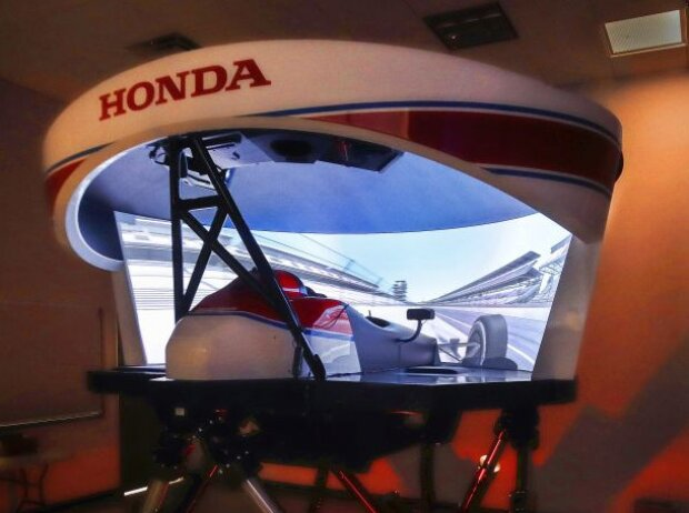 IndyCar-Simulator von Honda