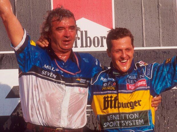Michael Schumacher, Flavio Briatore