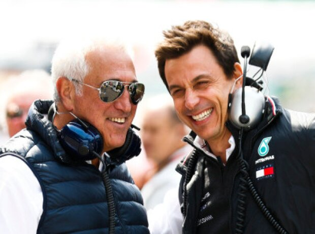 Lawrence Stroll und Toto Wolff