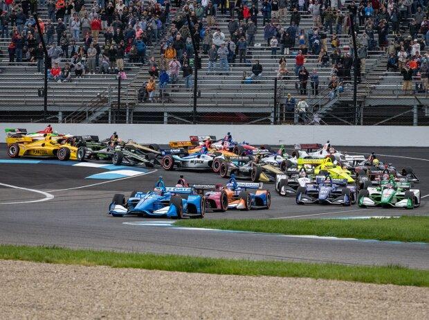 Start zum Grand Prix von Indianapolis der IndyCar-Saison 2019