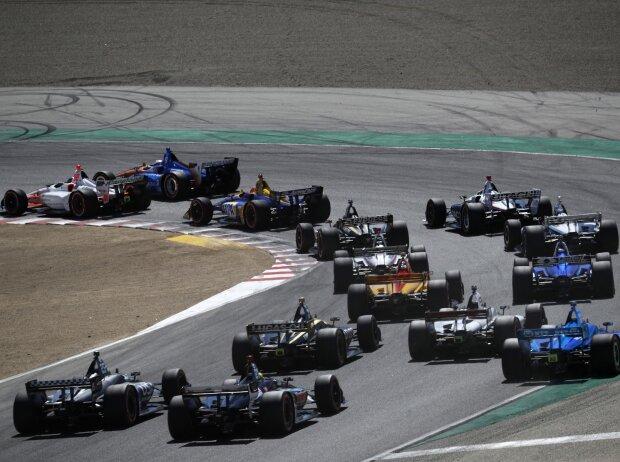 IndyCar-Saisonfinale 2019 auf dem Laguna Seca Raceway