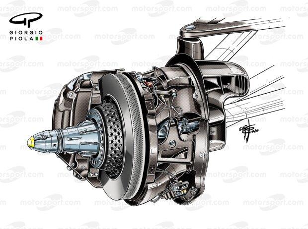 Vorderradbremse von Mercedes