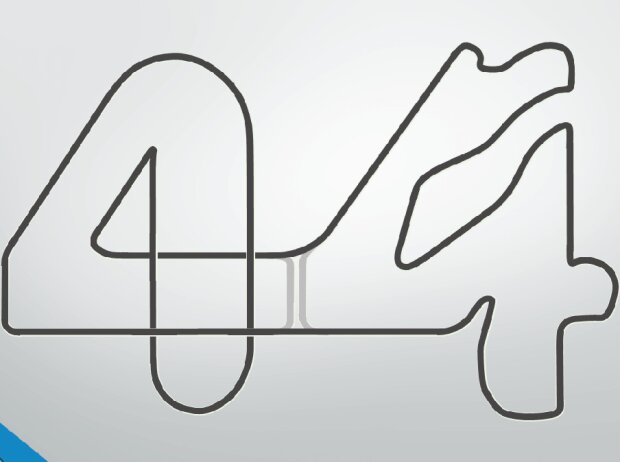 Lewis Hamilton LH44 Grand Prix Circuit