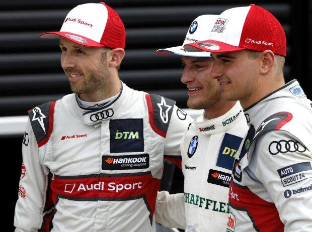 Marco Wittmann, Nico Müller, Rene Rast