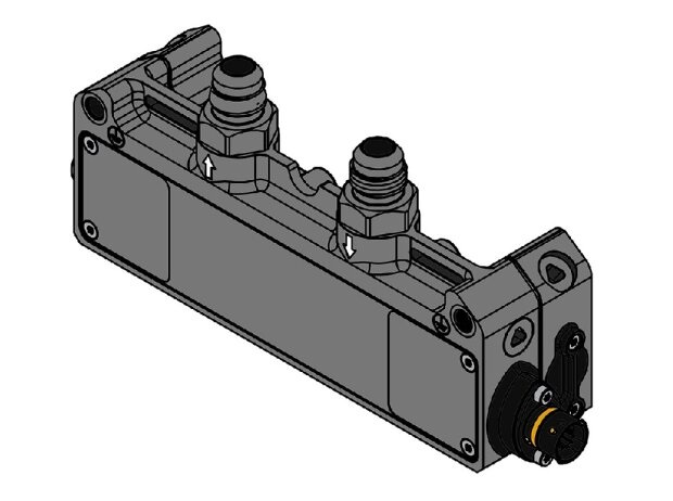Sensor für Benzindurchfluss