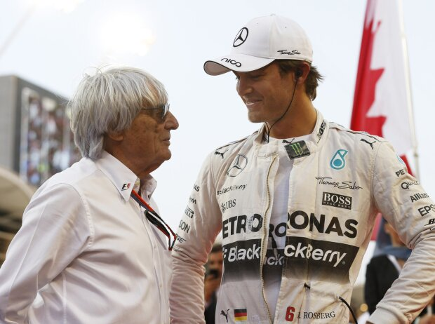Bernie Ecclestone, Nico Rosberg