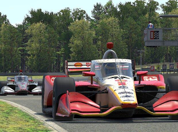 eSports: Scott McLaughlin, IndyCar iRacing Challenge