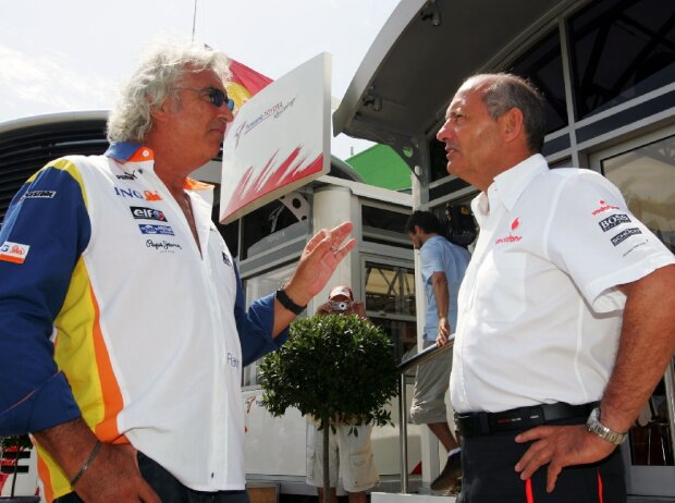 Flavio Briatore, Ron Dennis