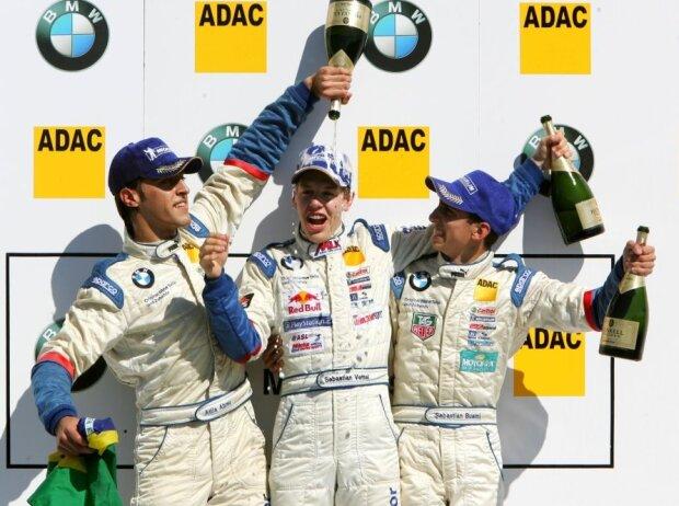 Atila Abreu, Sebastian Vettel, Sebastien Buemi