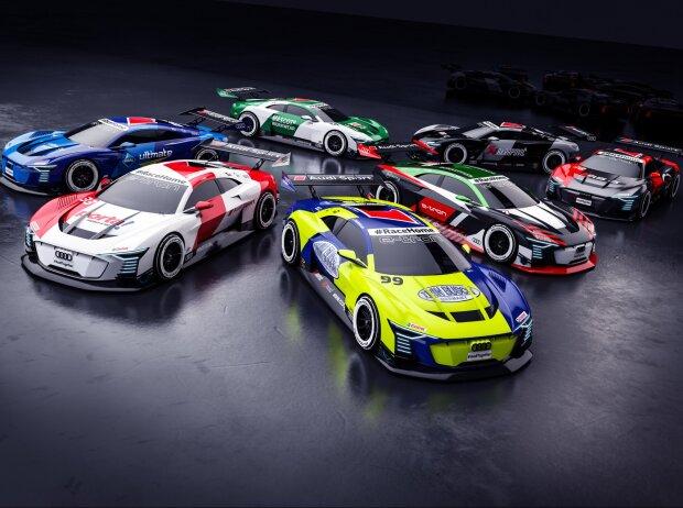 Mike Rockenfeller, Audi e-tron Vision GT