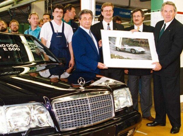 Hans Herrmann reçoit le 10 000e E 500