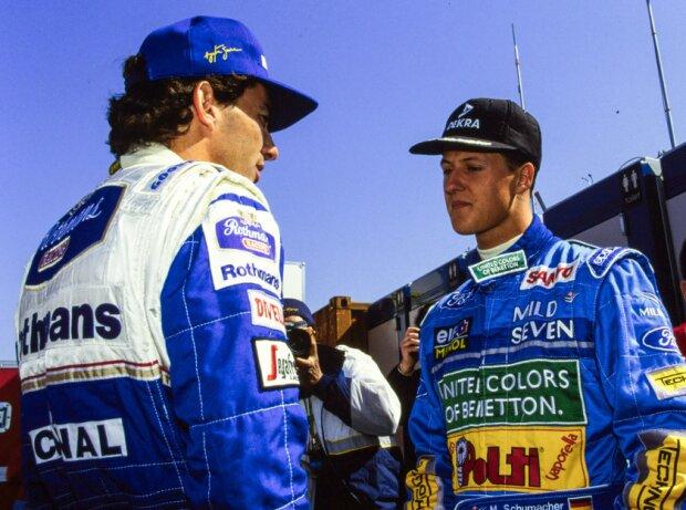 Ayrton Senna, Michael Schumacher