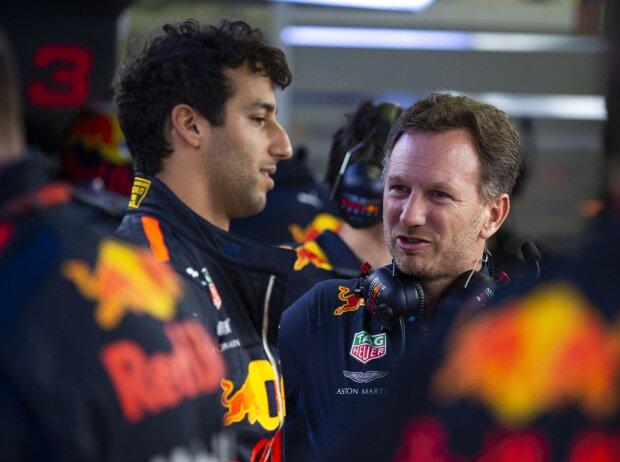 Daniel Ricciardo, Christian Horner