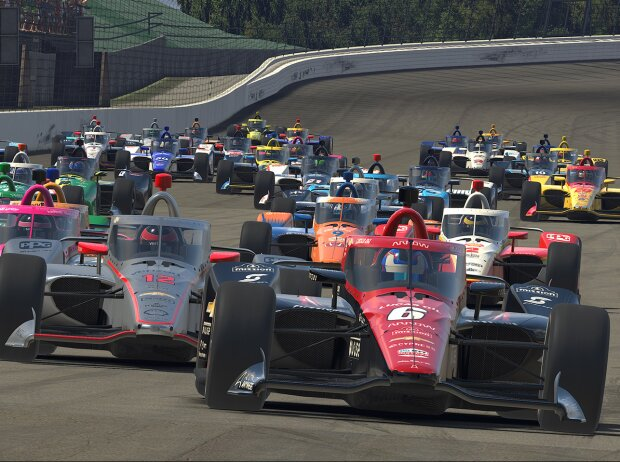 eSports: IndyCar iRacing Challenge in Motegi