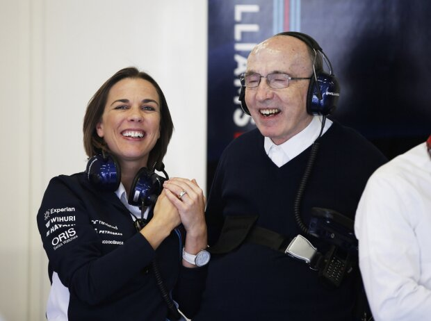 Claire Williams, Frank Williams