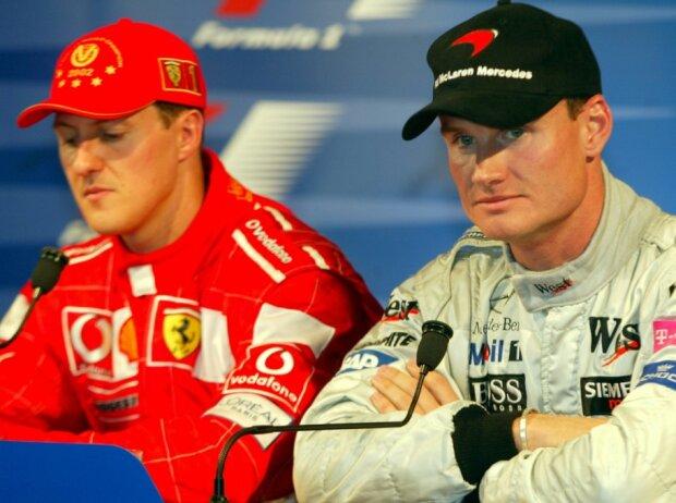 Michael Schumacher, David Coulthard
