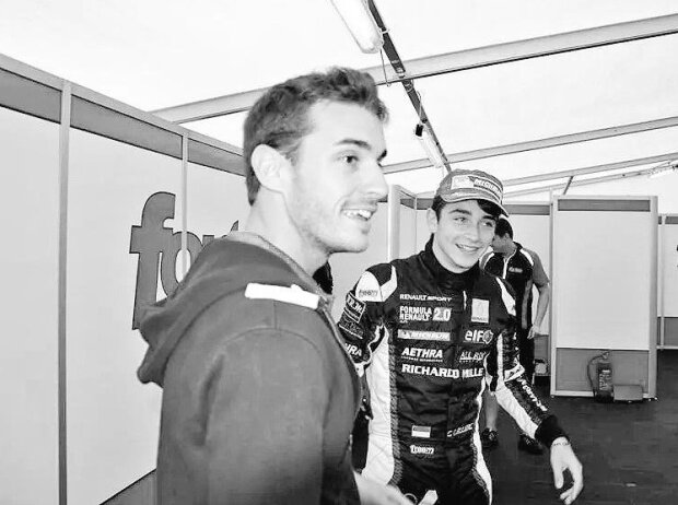 Jules Bianchi, Charles Leclerc