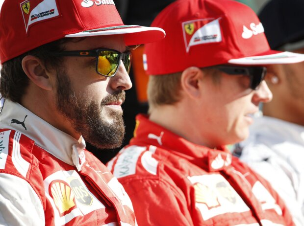 Fernando Alonso, Kimi Räikkönen