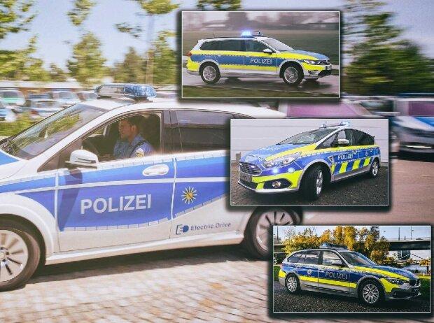 Polizeiautos in Deutschland