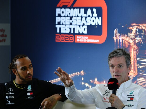 Lewis Hamilton und James Allison