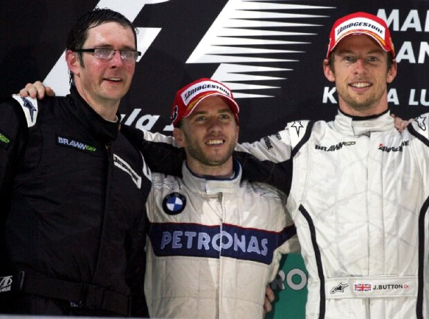 Nick Heidfeld, Jenson Button