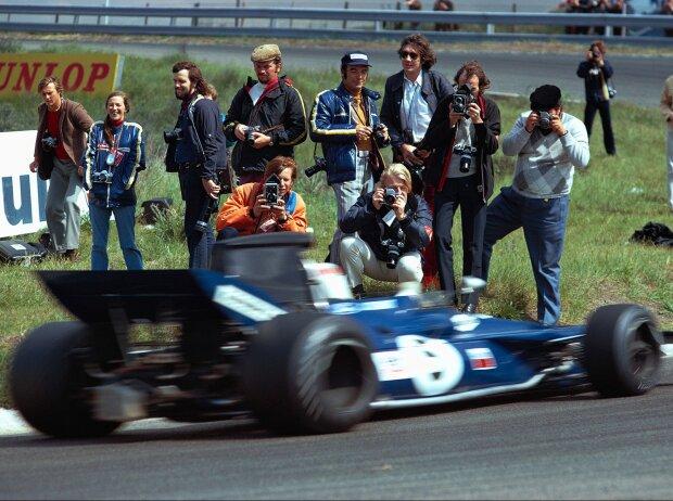 Jackie Stewart, Fotografen am Streckenrand